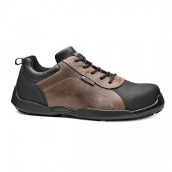 Δερμάτινα παπούτσια εργασίας RAFTING S3 SRC καφέ/μαύρο, BASE