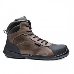 Δερμάτινα παπούτσια εργασίας RAFTING TOP S3 SRC καφέ/μαύρο, BASE