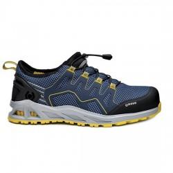 Παπούτσια ασφαλείας K-WALK S1P HRO SRC μαύρο/μπλε/κίτρινο, BASE