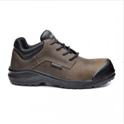 Δερμάτινα παπούτσια εργασίας BE BROWNY S3 CI SRC ΚΑΦΕ/ΜΑΥΡΟ, BASE