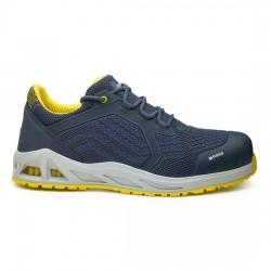 Παπούτσια ασφαλείας K-SPRINT S1P SRC ΜΠΛΕ/ΚΙΤΡΙΝΟ, BASE