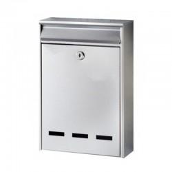 Γραμματοκιβώτιο ΓΚΡΙ 300Χ200Χ50ΜΜ Bormann BMB1001 (022411)