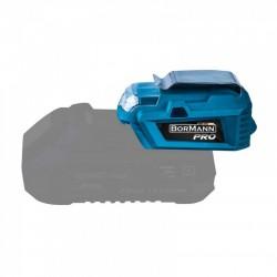 BORMANN BBP1010 Power Bank Usb - Φακός 2 σε 1 Μπαταρίας 20V (032779)