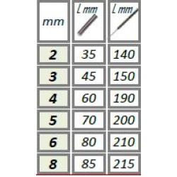 6042140 ΖΟΥΜΠΑΔΕΣ FORCE 2mm
