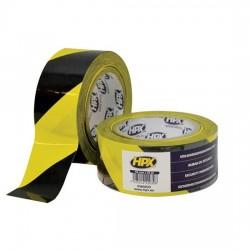 Ταινία μαρκαρίσματος κίτρινη/μαύρη 50mmx33m, HPX