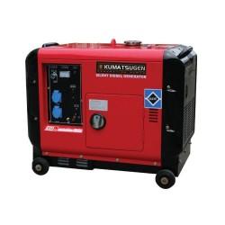 Γεννήτρια Πετρελαίου Κλειστού τύπου Μονοφασική 10.5hp KUMATSUGEN (ΜΕ ΜΙΖΑ) AVR (003809)